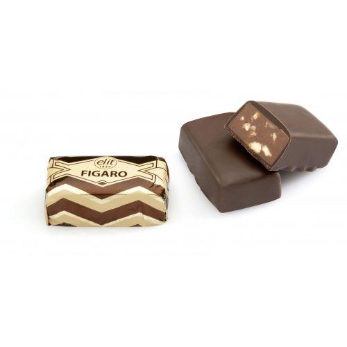 Elit Figaro mogyoró pralinés étcsokoládé