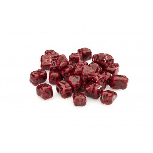 Elit Fruit Cube fehér- és étcsokoládés málnazselés kocka / tetszőleges mennyiségben vásárolható ÁR/G