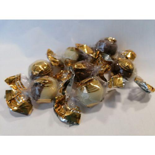 Maitre T. duo darabra kétféle csokoládés mogyorókrémmel töltött golyó