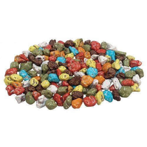 Elit extra színes tejcsokoládé kavics/tetszőleges mennyiségben vásárolható ÁR/G