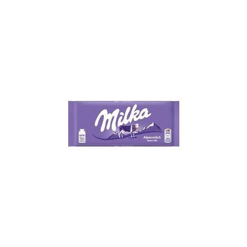 Milka alpesi tejcsokoládé 100g