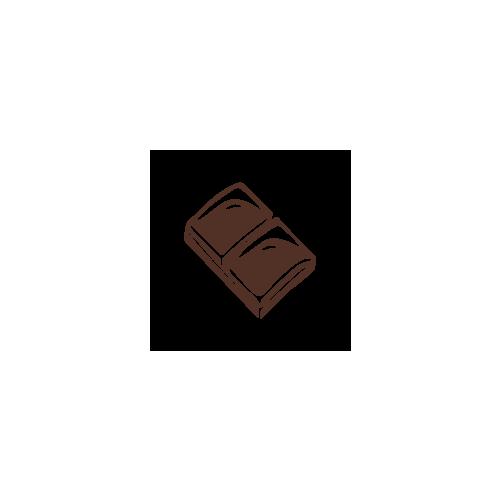 Menakao étcsokoládé tábla 63%-combava és rózsabors 75g