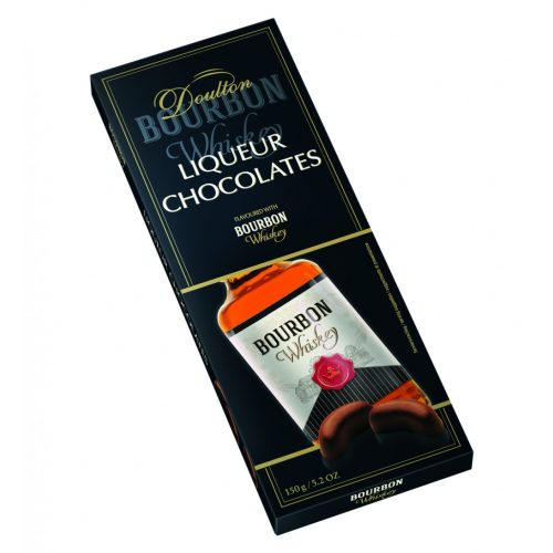 Doulton JimBeam likőrrel töltött csokoládé praliné 150g
