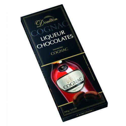 Doulton Courvoisier VS Cognac -al töltött csokoládé praliné 150g