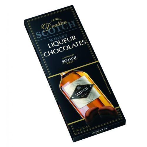 Doulton Teacher's skót whisky-vel töltött csokoládé praliné 150g