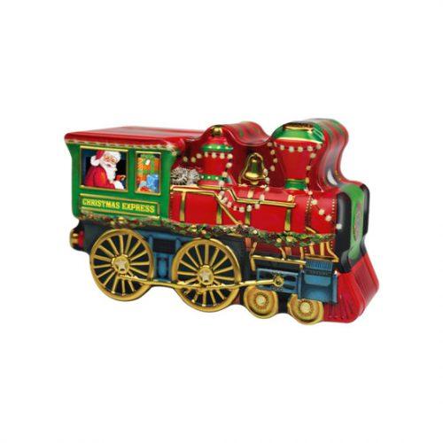 Windel Christmas Locomotive fémdoboz mikulásos csokoládéval 123g
