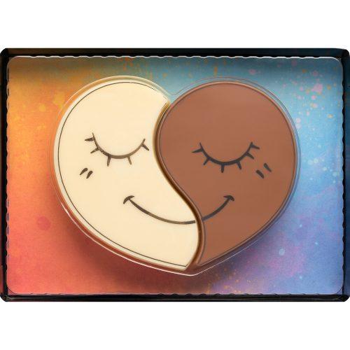 Weibler mosolygós tejcsokoládé szívecskék 50g  Cikksz:65004