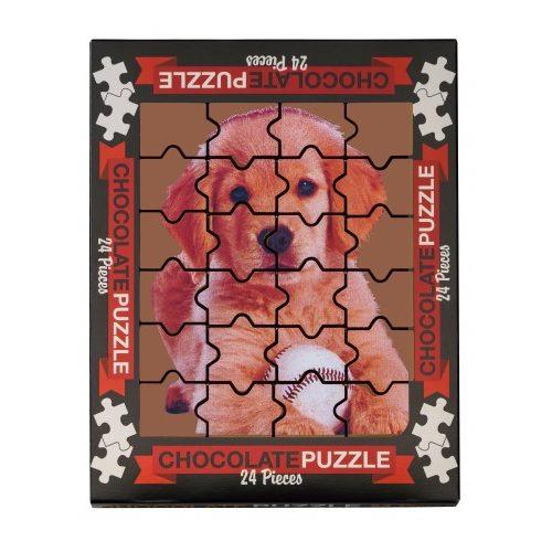 Weibler tejcsokoládé puzzle kutyás 175g