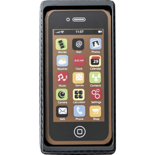 Weibler tejcsokoládé telefon fekete 40g