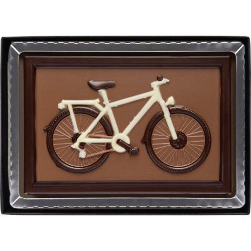 Weibler kerékpár tejcsokoládé 75g