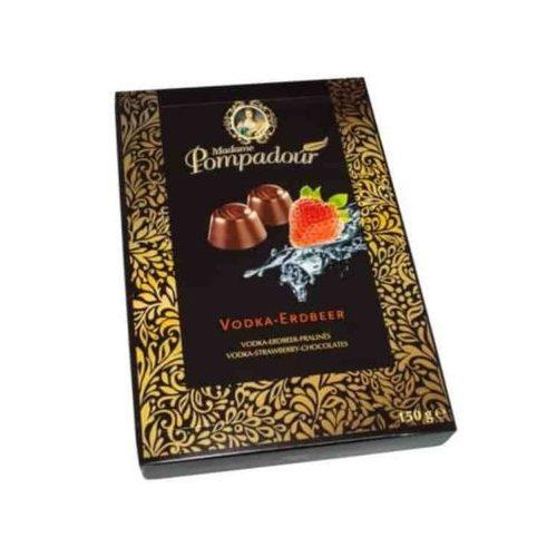 Laroshell Madame Pompadour Vodkás-epres étcsokoládé pralinék 150g