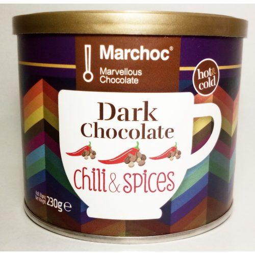 Marchoc forró étcsokoládé por 230 g fűszeres