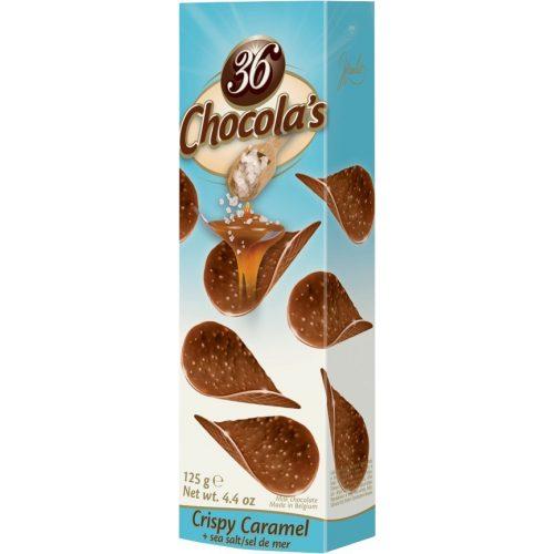 Hamlet Chocola's csoki chips sós karamellás 125g