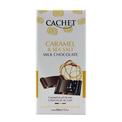 Cachet tejcsokoládé tábla-sós karamell 100g 416032