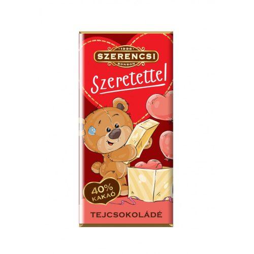 Szerencsi Szeretettel Macis szelet tejcsokoládé 20g