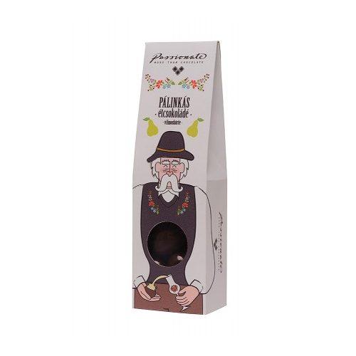 Passionate - Pálinkás étcsokoládé bonbon vilmoskörte pálinkával 80g