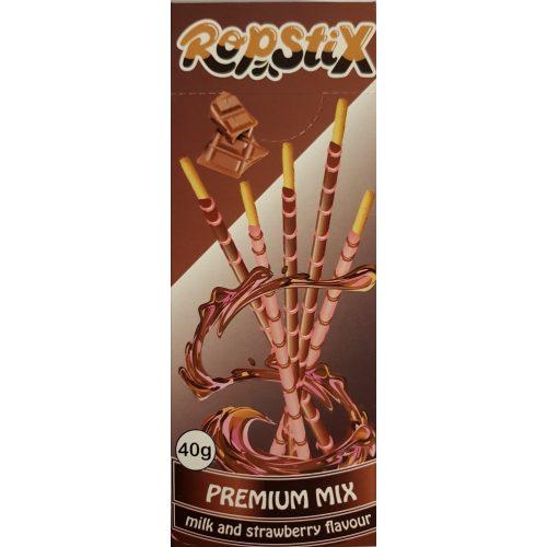 Ropstix Premium Mix Milk and Strawberry 40g