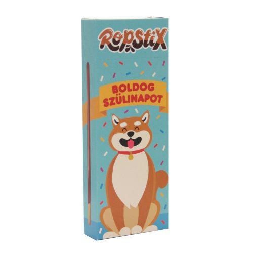 Ropstix Classic Milk - Boldog szülinapot! (kutyusos) 40g