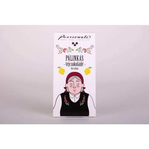Passionate Kupica Pálinkás  tejcsokoládé birsalma 16g