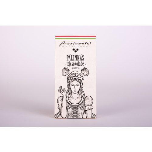 Passionate Kupica Pálinkás  tejcsokoládé szamóca 16g