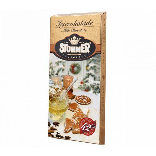 Stühmer táblás mézeskalácsos tejcsokoládé 100g