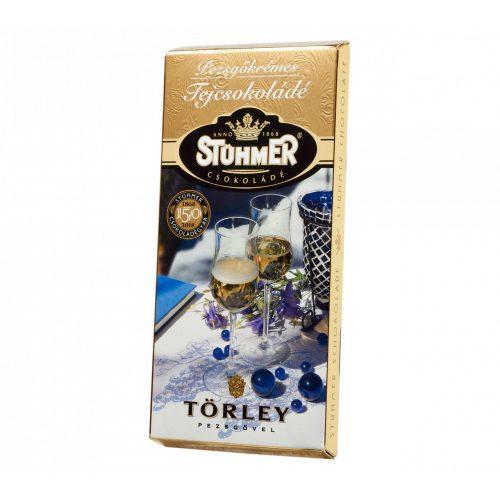 Stühmer táblás muskotályos pezsgőkrémes tejcsokoládé 100g