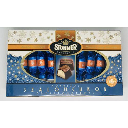 Stühmer HCN kókuszos tejcsokoládé szaloncukor édesítőszerrel díszdoboz 225g