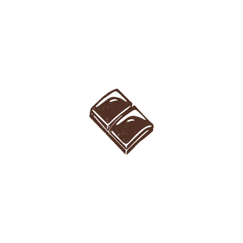 Piros mogyorós szaloncukor étcsokoládés 345g