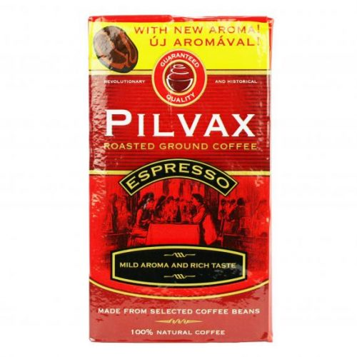 Pilvax Espresso őrölt, pörkölt, vákuumos kávé 250g