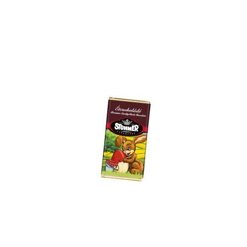 Stühmer étcsokoládé táblácska karácsonyi 20g