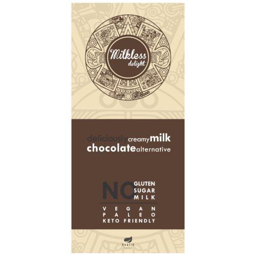 Milkless Delight kakaós tábla édesítőszerrel 80g