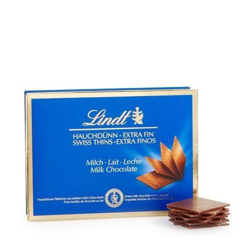 Lindt Hauchdünn extra vékony tejcsokoládé lapocskák 125g