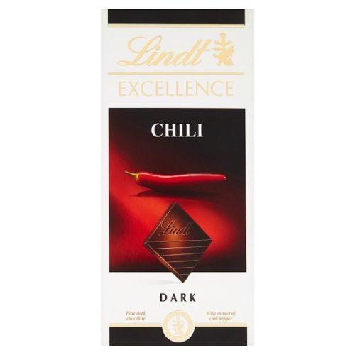 Lindt Excellence Chili étcsokoládé tábla 100g