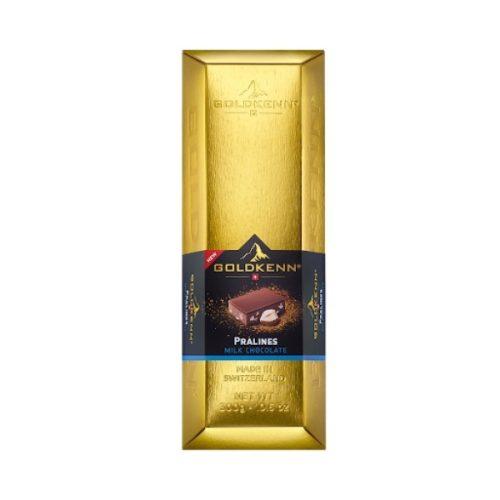 Goldkenn Goldbar tejcsokoládés praliné 300g