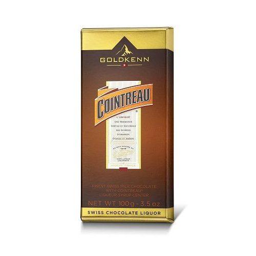 Goldkenn Cointreau Liqueur Bar alkoholos töltött csokoládé 100g