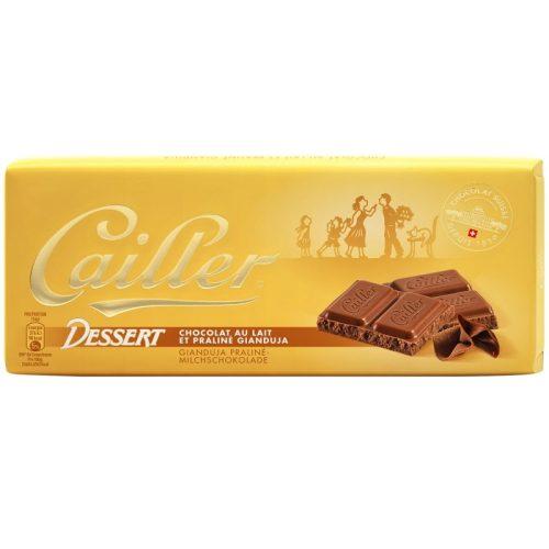 Cailler Dessert táblás giandujás-tejcsokoládé 100g