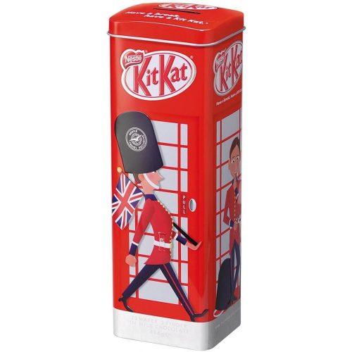 Kit Kat brit telefonfülkés persely Fémdoboz 414g