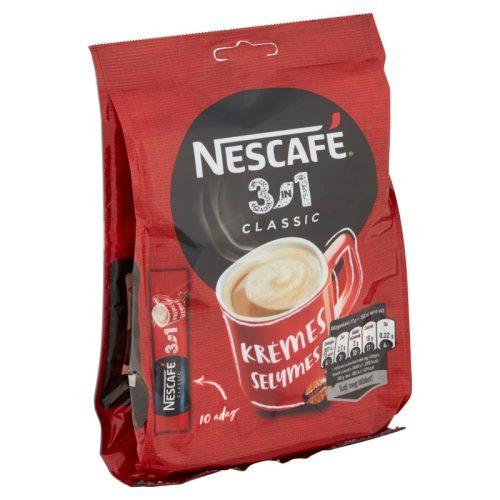 Nescafé 3in1 Classic azonnal oldódó kávéspecialitás 10 x 17 g (170 g)