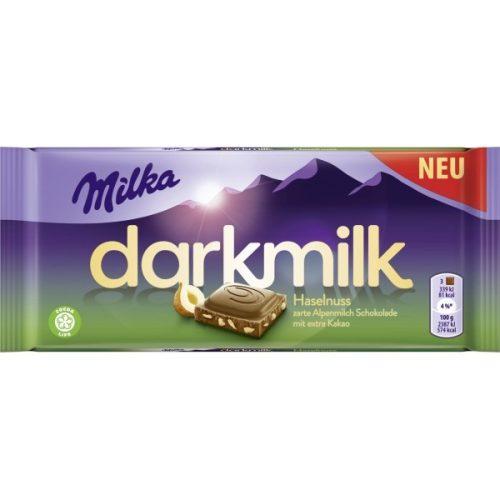 Milka Darkmilk mogyorós 85g KIEMELT AKCIÓ!
