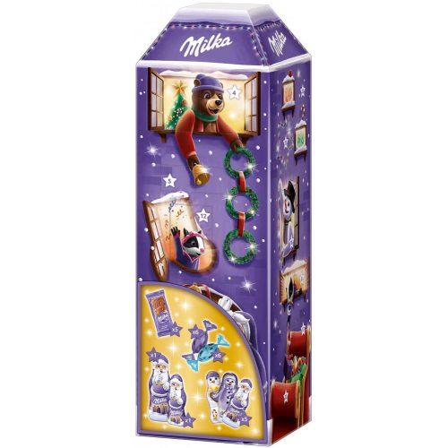 Milka Adventi kalendárium 3D torony 229g