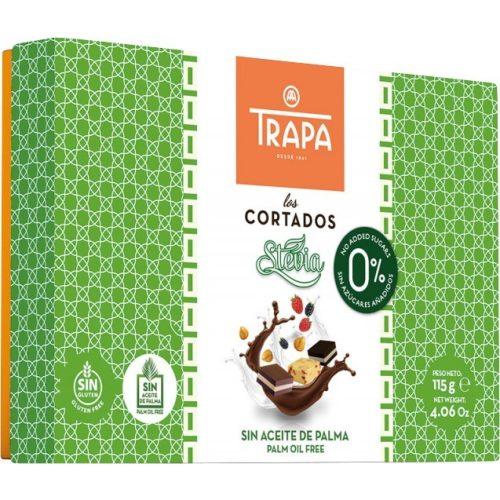 Trapa Cortados Stevia desszert 115g