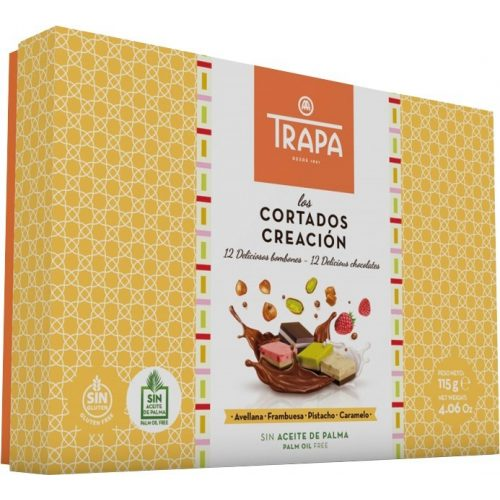 Trapa Cortados Creacion Gluténmentes gyümölcsös desszert 115g