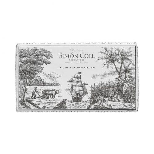 Simón Coll étcsokoládé 50% 200g 400948