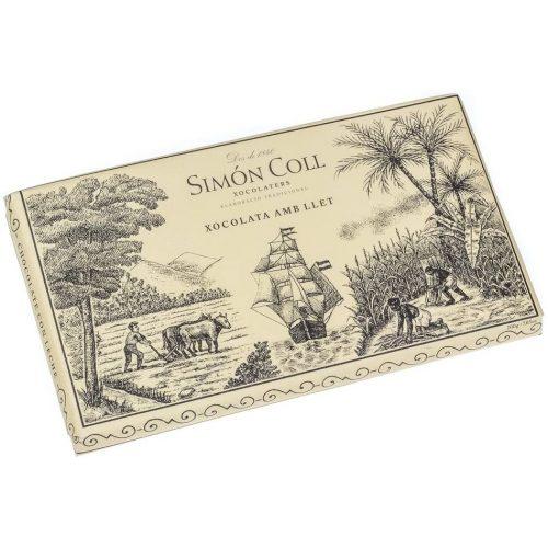 Simón Coll tejcsokoládé 200g 400949