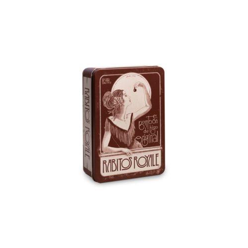 Rabitos Royale Vintage fémdobozos étcsokoládés fügebonbon 224g