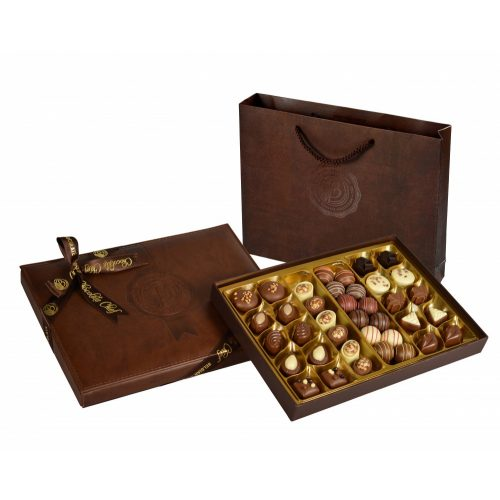 Bolci Leather Box dark brown 500g