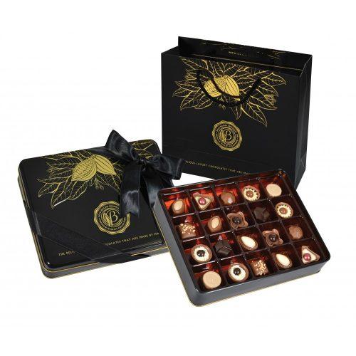 Bolci Black and gold tin box 250g