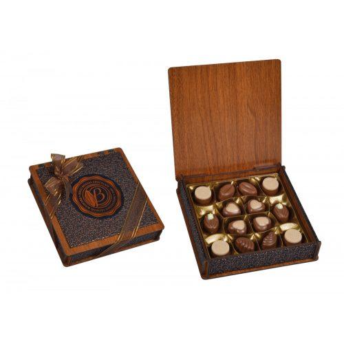Bolci Wood Leather box 175g
