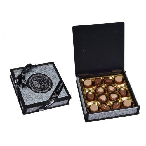 Bolci Wood Leather box silver 175g CH134