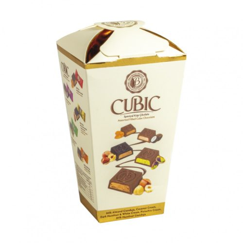Bolci Cubic box vegyes csokoládé válogatás 120g  EXTRA AKCIÓ!